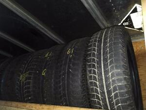 215/65R/17 MICHELIN X-ICE XI2 WINTER SNOW TIRES COMPLETE SET OF FOUR $80 215/65R17 *** 215/65/17