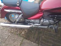 Month old v-twin 125 cc hyosueng Aquila £3000 ovno