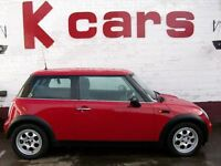 MINI ONE 1.6 WITH 12 MONTHS MOT FULL SERVICE HISTORY 3 MONTHS RAC WARRANTY