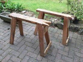 Wood Work Horses