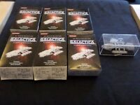 Konami Battlestar Galactica Figures Bundle - Very Rare