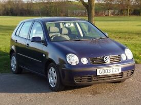 Volkswagen Polo 1 owner from new new cambelt and service new MOT
