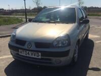 1.5 DCI Renault Clio Diesel - 1 years MOT - £30 road tax