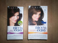 ladies hair dyes (brown)