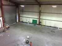 Large Industrial Unit to Let with Yard up to 80 Car Sales Repair Mot / Warehouse m1 J26 Watnall