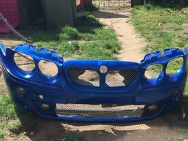 02 Mg Zt trophy blue bumper and wing