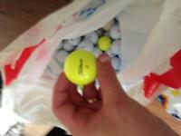 Callaway nike Titleist golf balls