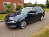 2013 Auto Volkswagen Passat Estate MK7 2.0 TDI BlueMotion Tech Highline DSG 5dr