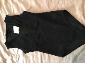 Size 8 Black bodysuit
