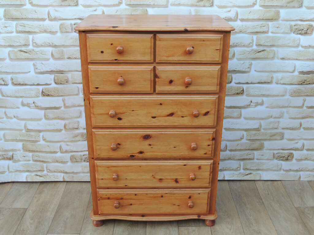 Marks and Spencer Chest of Drawers solid wood (Delivery)