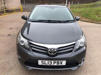 TOYOTA AVENSIS 2.0 D-4D ICON 4d 124 BHP 1 PREVIOUS KEEPER +BLUETOOTH + PARKING CAMERA+ NAVIGATION +