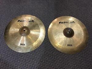 Masterwork Cymbales Hi-hat 15 iris