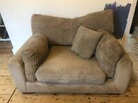 Large armchair/cuddler chair for sell. Super comfy!!