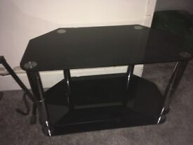 Tv stand, mini fridge, old printer, 2x wireless mouse for computer