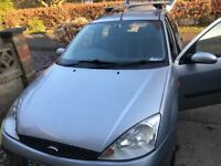 For sale Ford Focus estate diesel Runs and drives no MOT