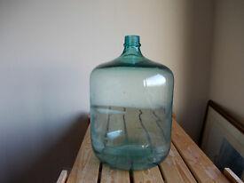 old green glass bottle