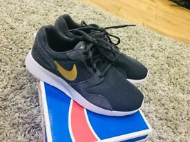 Grey & Gold Nike Trainers - UK size 4 - Prototype - Only worn once!