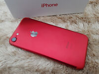 Apple iPhone 7 Special Edition in Red Unlocked 128gb Bought from Argos York for £679