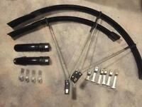 SKS Raceblade Long 2/II Mudguards/Fender Set for Road Bikes (without mounting eyelets)