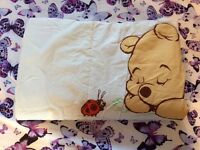 Winnie The Pooh Cot / Bed Quilt