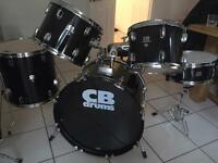 CB drum kit full set in excellent condition
