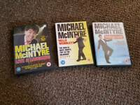 Michael mcIntyre dvds x3