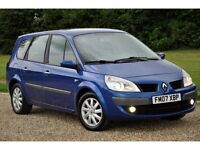 2007 Renault Grand Scenic 2.0 dCi+DIESEL+7 SEATER+MPV+5 DOORS+1 FORMER KEEPER+FREE 3 MONTHS WARRANTY