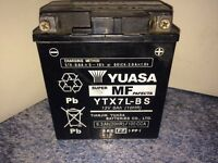 Yuasa YTX7L-BS Battery Fits Honda cbf125. And loads of others. GWC