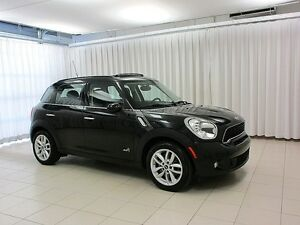 2014 MINI Cooper Countryman S ALL4 TURBO 6-SPEED w/ DUAL MOONROO