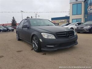 2011 Mercedes-Benz C-Class C350 4MATIC LOW MONTHLY PAYMENTS!!