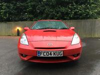 QUICK SALE: 2004 Toyota Celica 1.8L VVTi - Red
