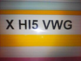 private number plate VW GOLF.........VW GOLF..