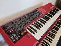 Clavia Nord Lead 4 49-key Performance Virtual Analog Synthesizer + Swan Professional Flightcase
