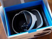 Playstation VR Boxed+camera used 2 times