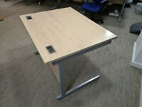 FREE SAME DAY DELIVERY - Lee & Plumpton 1000mm Straight Office Desks