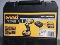 DeWALT Dcd985 18V XR Li-ion 3 SPEED 2x4ah Batteries_____Makita bosch hitachi hilti