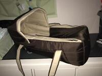 Carrycot and nursery set