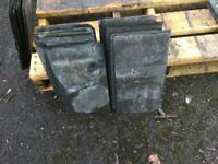 Welsh Roofing Slate 16 x 8 inches Reclaimed job lot of 130 slates