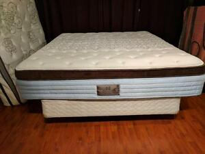 Luxury King Sealy Posturepedic Proback Pocket Coil Memory Foam Matress - $200 (Metrotown - Includes Delivery)