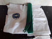 Tae kwon do suits and sparring gear
