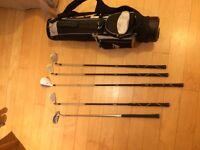 golf kit + bag (junior)