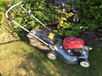 Honda rotary self propelled mower.
