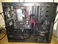 PC with Intel i5 4690k, 212X EVO, EVGA SuperNova G2 650W, 8GB DDR3 @2133 MHZ,