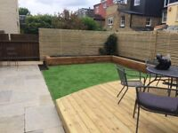 Landscape Gardener Decking Paving Fencing Walls Lawns Garden Maintenance Ealing Hammersmith Acton
