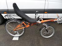 HP Velotechnik Street Machine GT Recumbent Bike Superb Condition