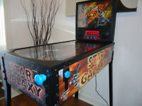 STAR GALAXY PINBALL MACHINE IN NEW CONDITION CAN DELIVER ARCADE