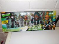 TMNT 4 x figure mutation pack brand new and sealed
