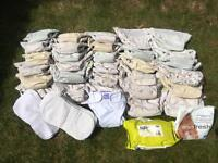 Kushies all-in-one cloth nappies