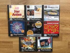 PlayStation 1 games job lot. Ps1