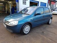 Vauxhall Opel corsa automatic 2002 low mileage in a good condition